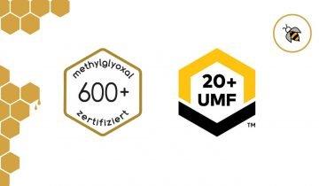 Manuka Honig: Der Unterschied zwischen MGO und UMF® – mit Tabelle